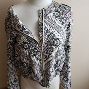 Forever 21 Jackets & Coats - Tribal print jacket